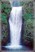 A waterfall, expressing the wellspring of fresh energy pouring from within us.